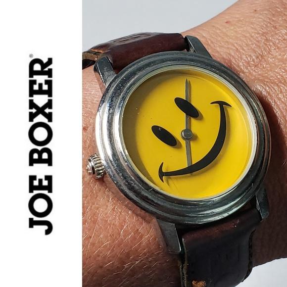 Joe Boxer Accessories - 🔥 Vintage Joe Boxer Smiley Face Watch